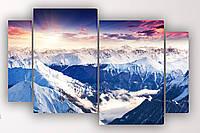 Модульная картина Горный пейзаж, фото 1