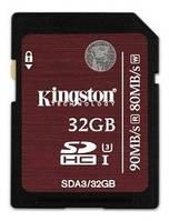 SDHC 32GB UHS-I/U3 Class 10 Kingston (SDA3/32GB)