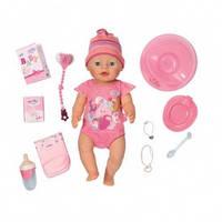 Кукла BABY BORN - ОЧАРОВАТЕЛЬНАЯ МАЛЫШКА (43 см, с аксессуарами) от Zapf - под заказ