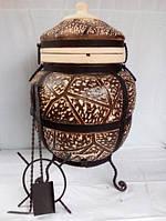 ТАНДЫР модель №5 (дизайн дикий камень), высота 100 см, диаметр 60 см