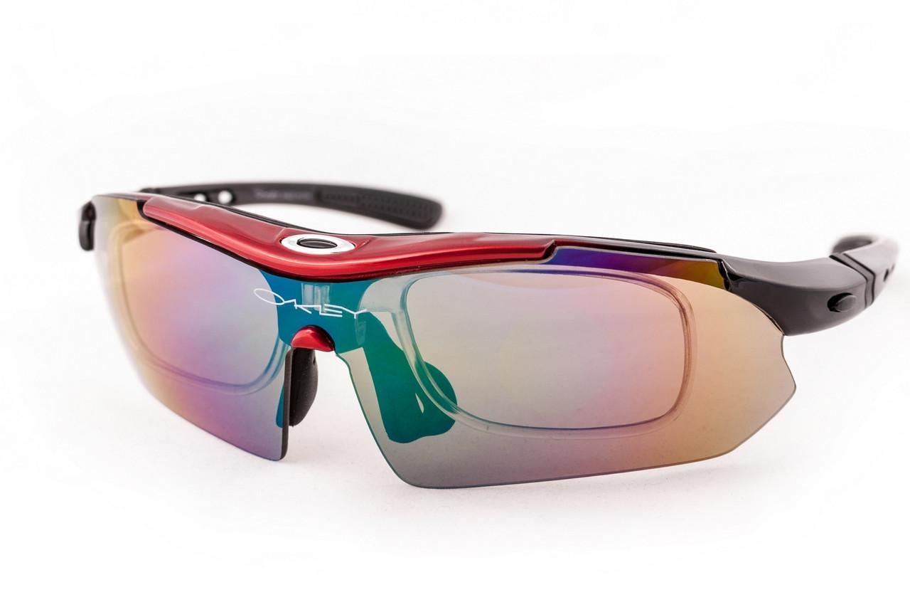 Очки спортивные Oakley Syper Sport 0089 Red