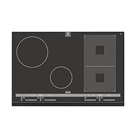 Электрическая варочная поверхность Electrolux EHH 8945 FOG black