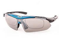 Велоочки Oakley Syper Sport 0089 Blue, фото 1