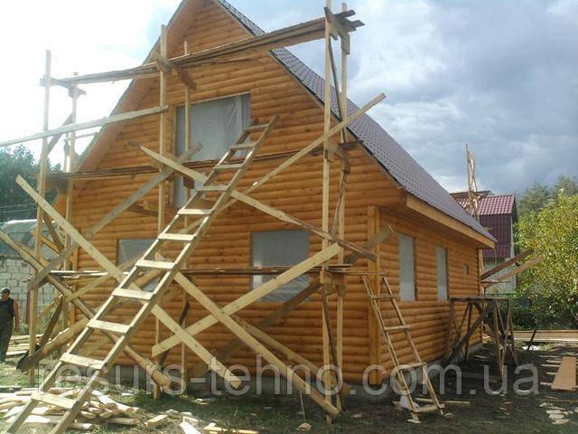 Как строится каркасный дачный домик
