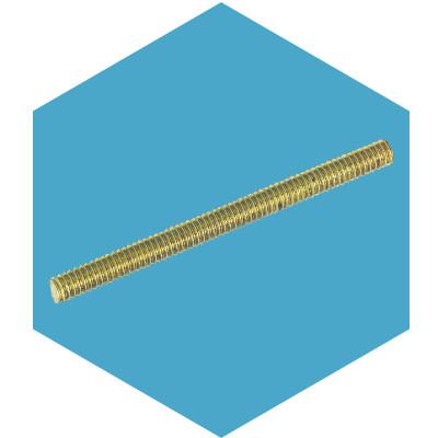 Din 975 шпилька резьбовая латунная