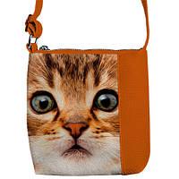 """Cумка детская через плечо """"Котик"""",сумки для девочек"""