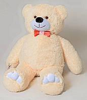Медведь большой, мягкий (бежевый) 85 см