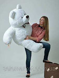 Медведь большой, мягкий ( белый ) 160 см
