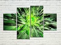 """Модульна картина """"абстракція вибух"""", фото 1"""