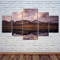 """Модульная картина """"Исландия"""", фото 1"""