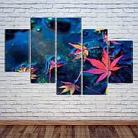 """Модульная картина """"Осенний дождь"""", фото 1"""