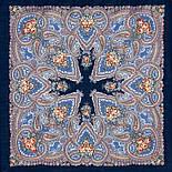 Яшма 542-14, павлопосадский платок шерстяной с шерстяной бахромой, фото 2
