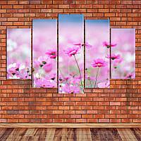 """Модульная картина """"Полевые цветы"""", фото 1"""