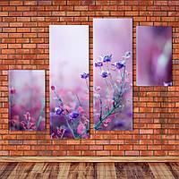 """Модульна картина """"Польові квіти"""", фото 1"""