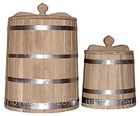 Кадка конусная дубовая 1 литр, фото 1