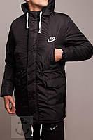 Зимняя парка Найк / куртка Nike черная