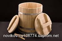 Кадка конусная дубовая 50 литров, фото 1