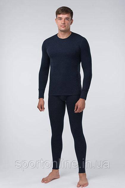 Комплект мужского термобелья  темно-синий