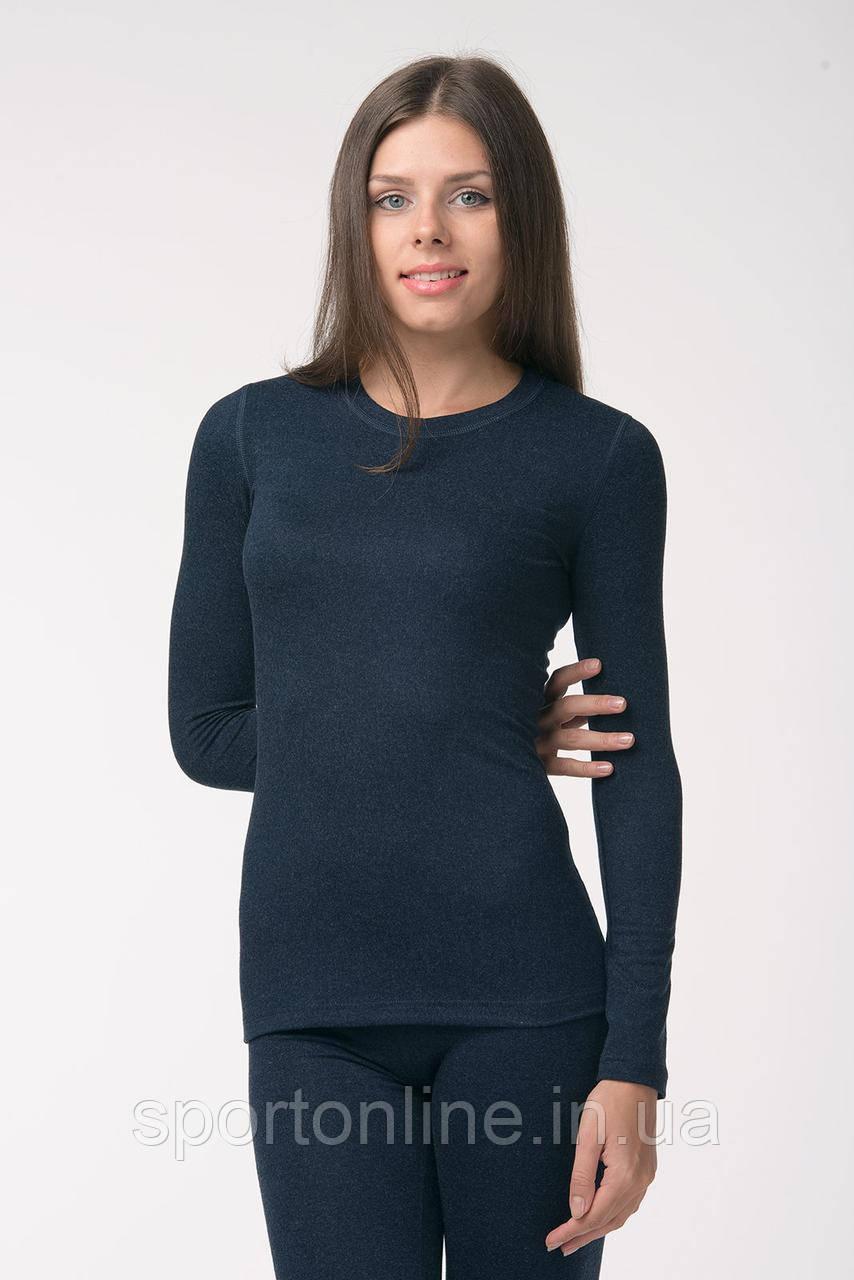 Джемпер (термоджемпер) женский  темно-синий