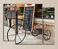 Модульная картина Уютная цветочная лавка, фото 1