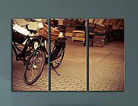 Модульная картина Прогулка на велосипедах, фото 1