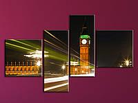 """Модульная картина """"Вечерний Лондон"""", фото 1"""