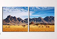 "Модульна картина ""Американська пустеля"", фото 1"
