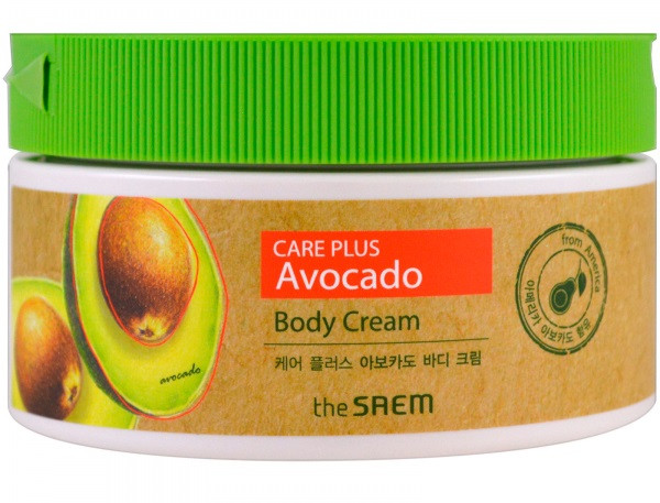 Питательный крем для тела с экстрактомавокадоThe Saem Care Plus Avocado Body Cream