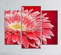 "Модульная картина ""Цветок"", фото 1"