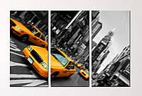 """Модульная картина """"New York"""", фото 1"""