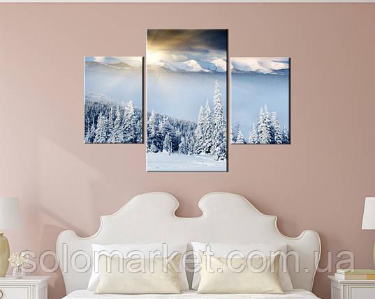 Модульная картина Восход в горах, фото 2