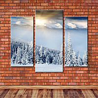 Модульная картина Восход в горах, фото 1