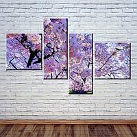 "Модульная картина ""Сакура"", фото 1"