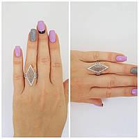 """Серебряное кольцо с камнями """"594"""""""