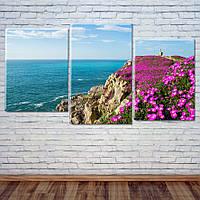 """Модульная картина """"Бискайский залив, Испания"""", фото 1"""