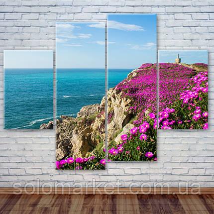 """Модульная картина """"Бискайский залив, Испания"""", фото 2"""