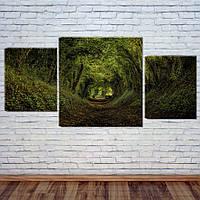 "Модульная картина ""Лесная тропа"", фото 1"