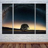 """Модульная картина """"Млечный путь"""", фото 1"""