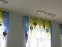 шторы фото в детский сад