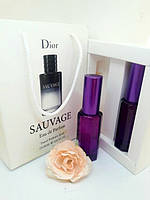 Christian Dior Sauvage - Double Perfume 2x20ml