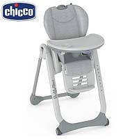 Chicco 79204.34 стульчик для корм. Polly 2 start (Happy Silver)