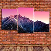 "Модульная картина ""Восход над горами"", фото 1"