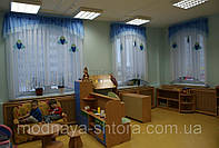 """Комплект штор """"Морской стиль"""" для детских садов, школ, детских лагерей, санаториев"""