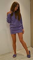 Комплект домашнее платье туника + тапочки  +цвета