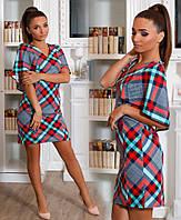 Платье трикотажное в расцветках 23127, фото 1