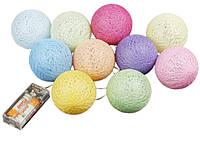 Гирлянды тайские Сotton Balls