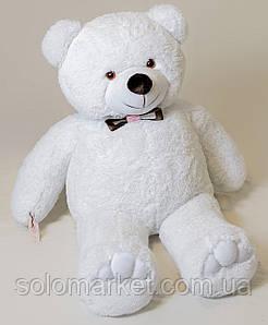 Медведь большой, мягкий ( белый ) 130 см
