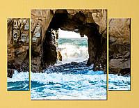 "Модульная картина ""Окно в скале"", фото 1"
