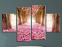 Модульная картина Цветы Магнолии, фото 1