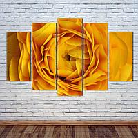 """Модульная картина """"Желтая роза"""", фото 1"""